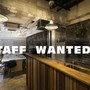 Small square staff wanted white